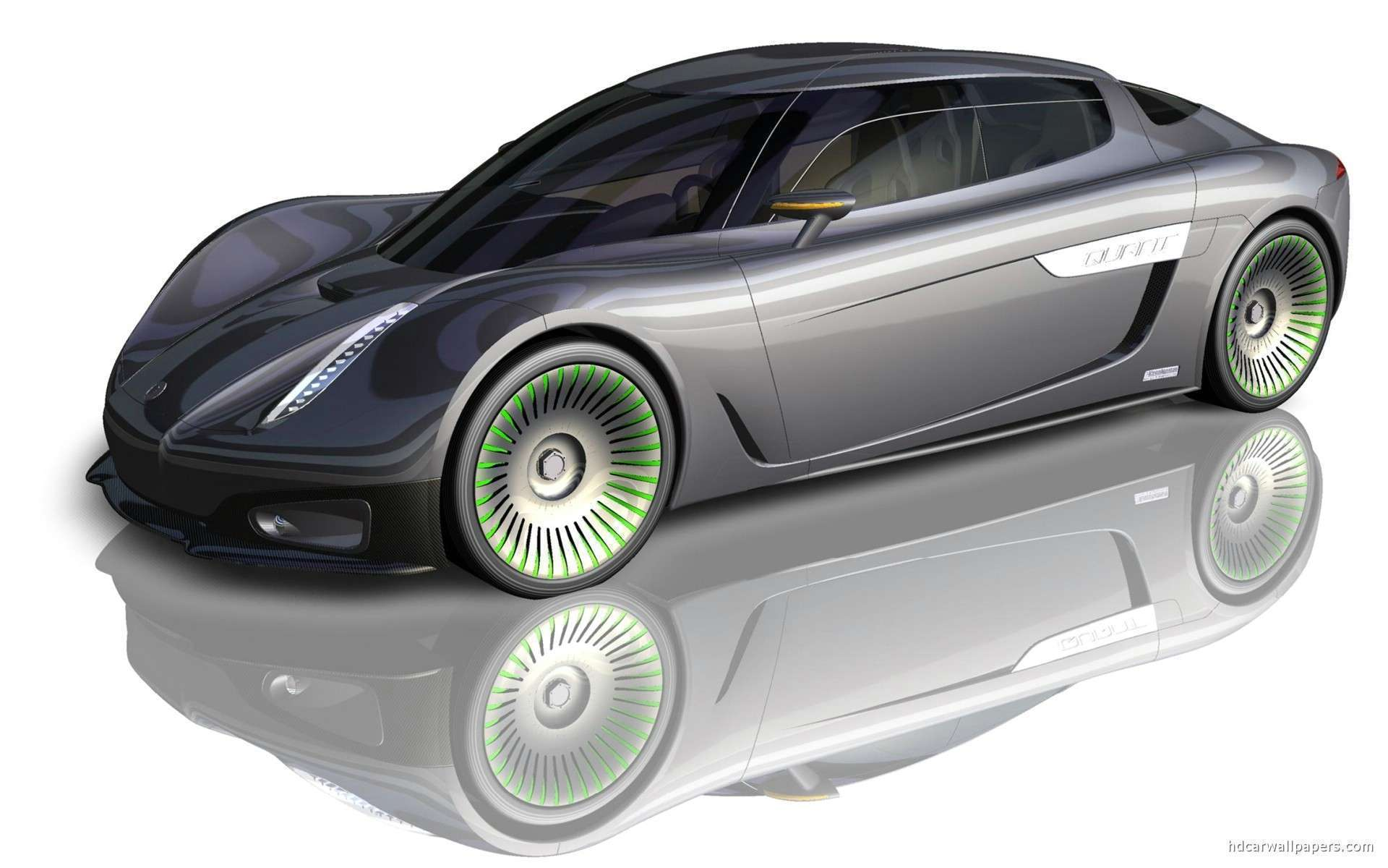 2009 Koenigsegg Quant Concept Hd Wallpapers