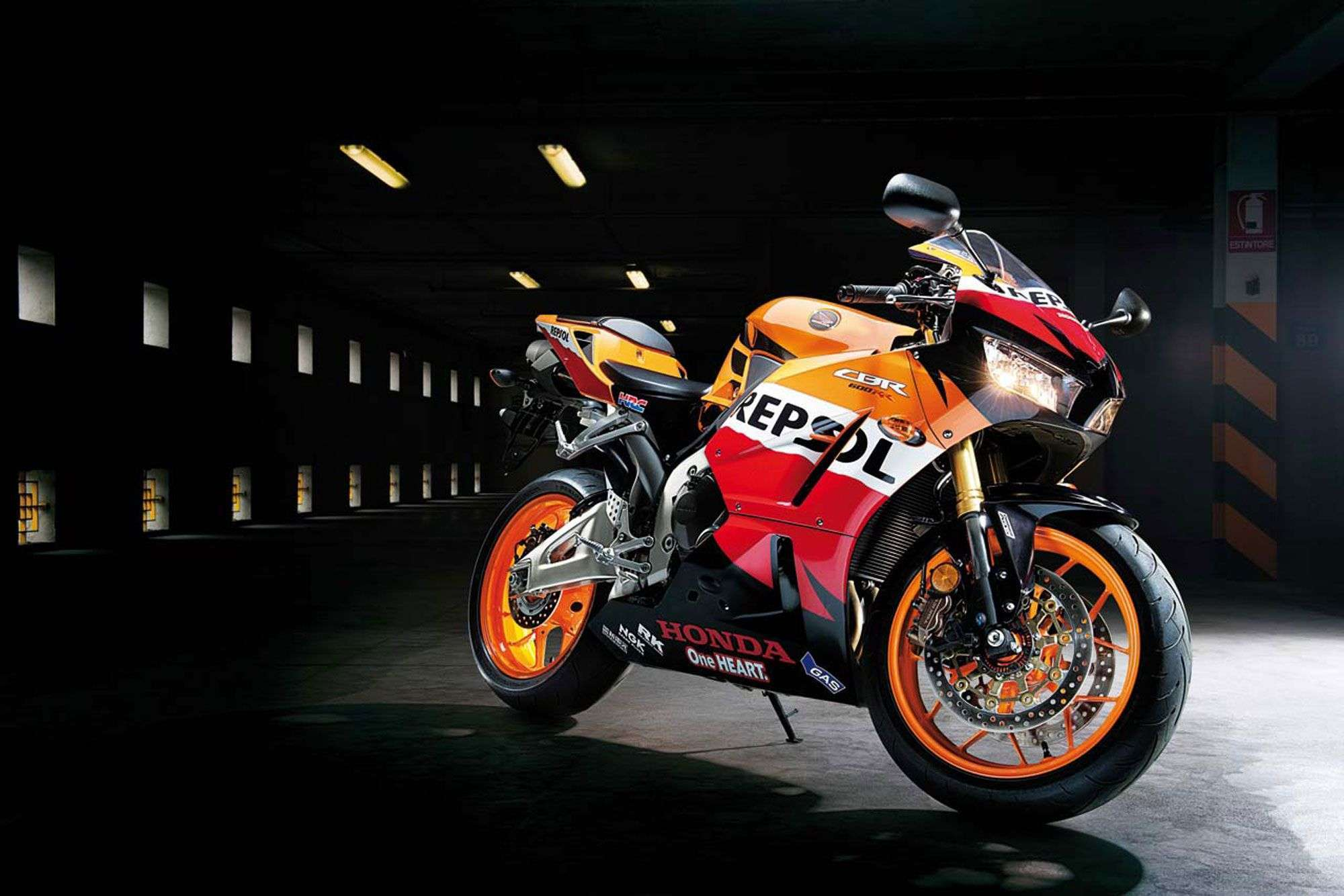 2013 Honda Cbr 600rr Repsol Wallpapers : Hd Car Wallpapers