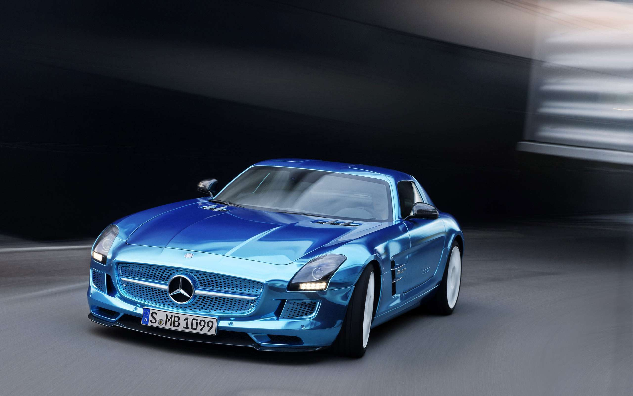2014 Mercedes Benz Sls Amg Coupe Electric Hd Wallpapers