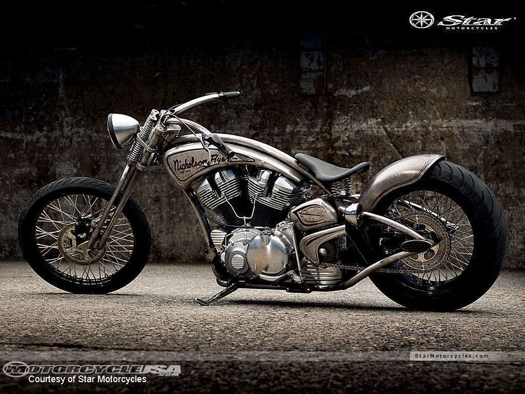custom star motorcycle   hd car wallpapers