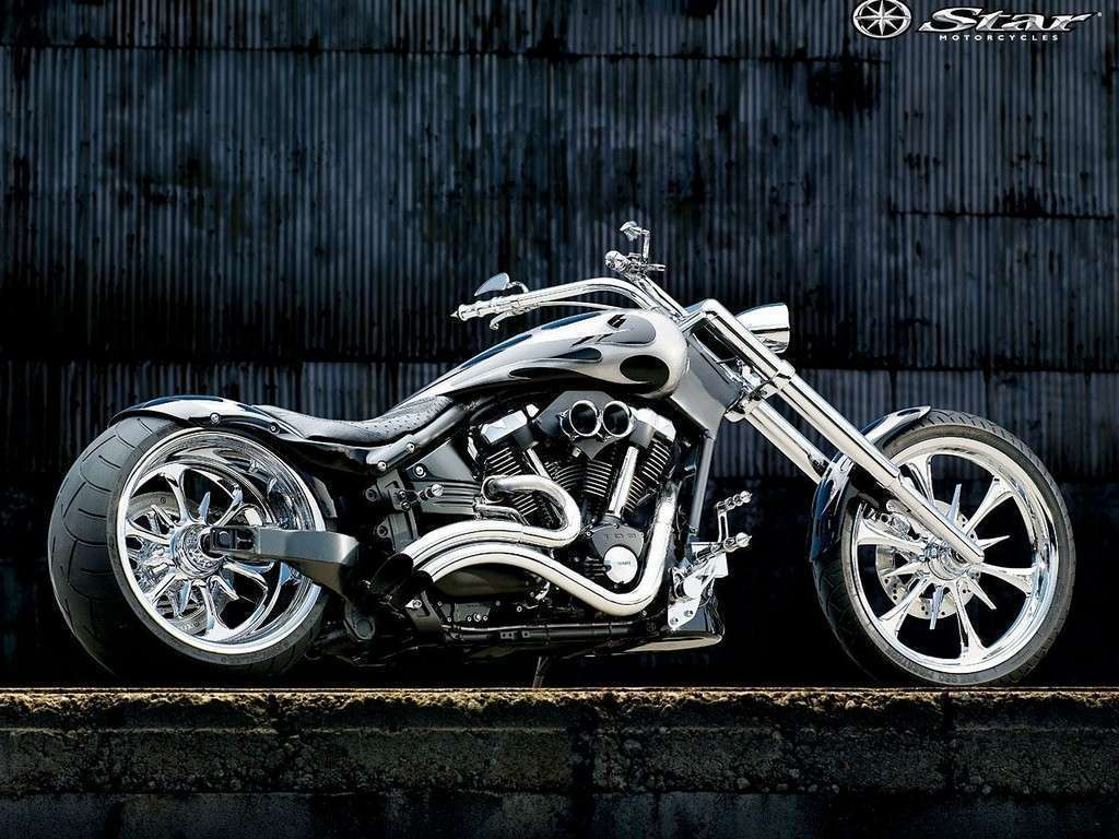 Custom Star Street Chopper Wallpaper : Hd Car Wallpapers