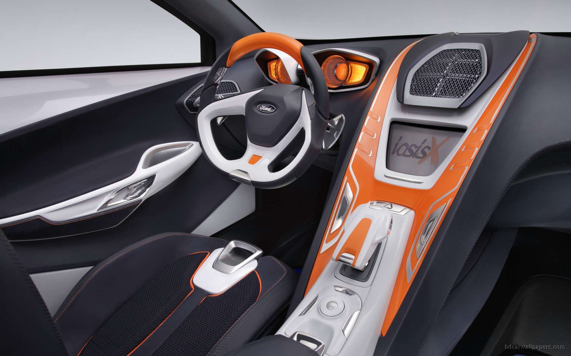 view of ford iosis x concept interior hd wallpapers hd car wallpapers. Black Bedroom Furniture Sets. Home Design Ideas