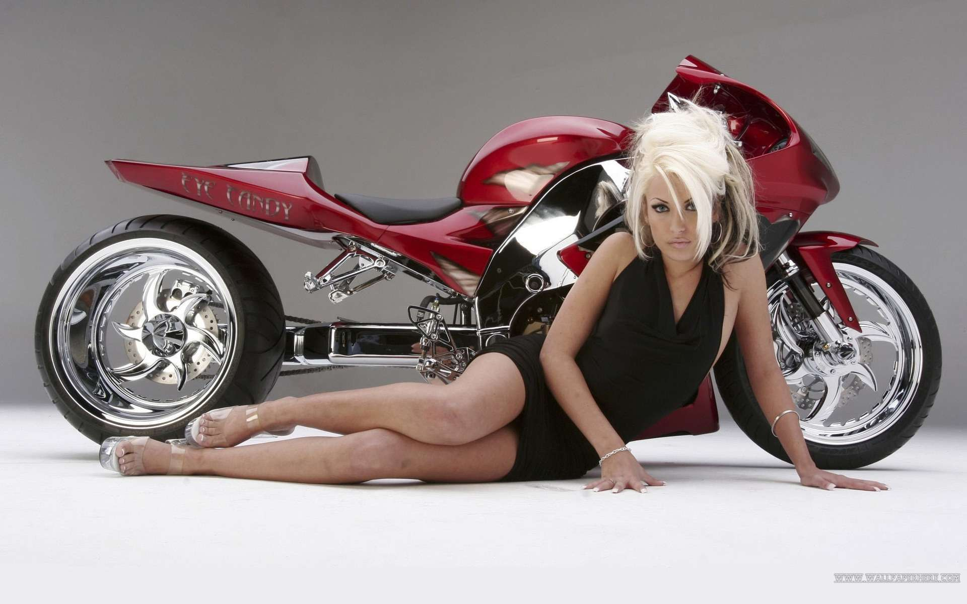 Hot Girls And Motorcycle Wallpaper Wallpapers  Hd Car