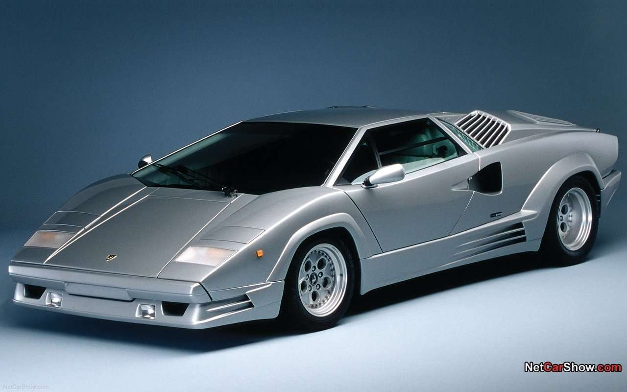 Lamborghini Countach 25th Anniversary Wallpaper Wallpapers
