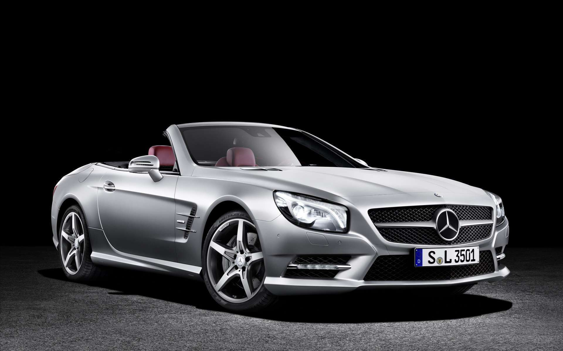 view of mercedes benz sl 2013 hd wallpapers hd car wallpapers. Black Bedroom Furniture Sets. Home Design Ideas