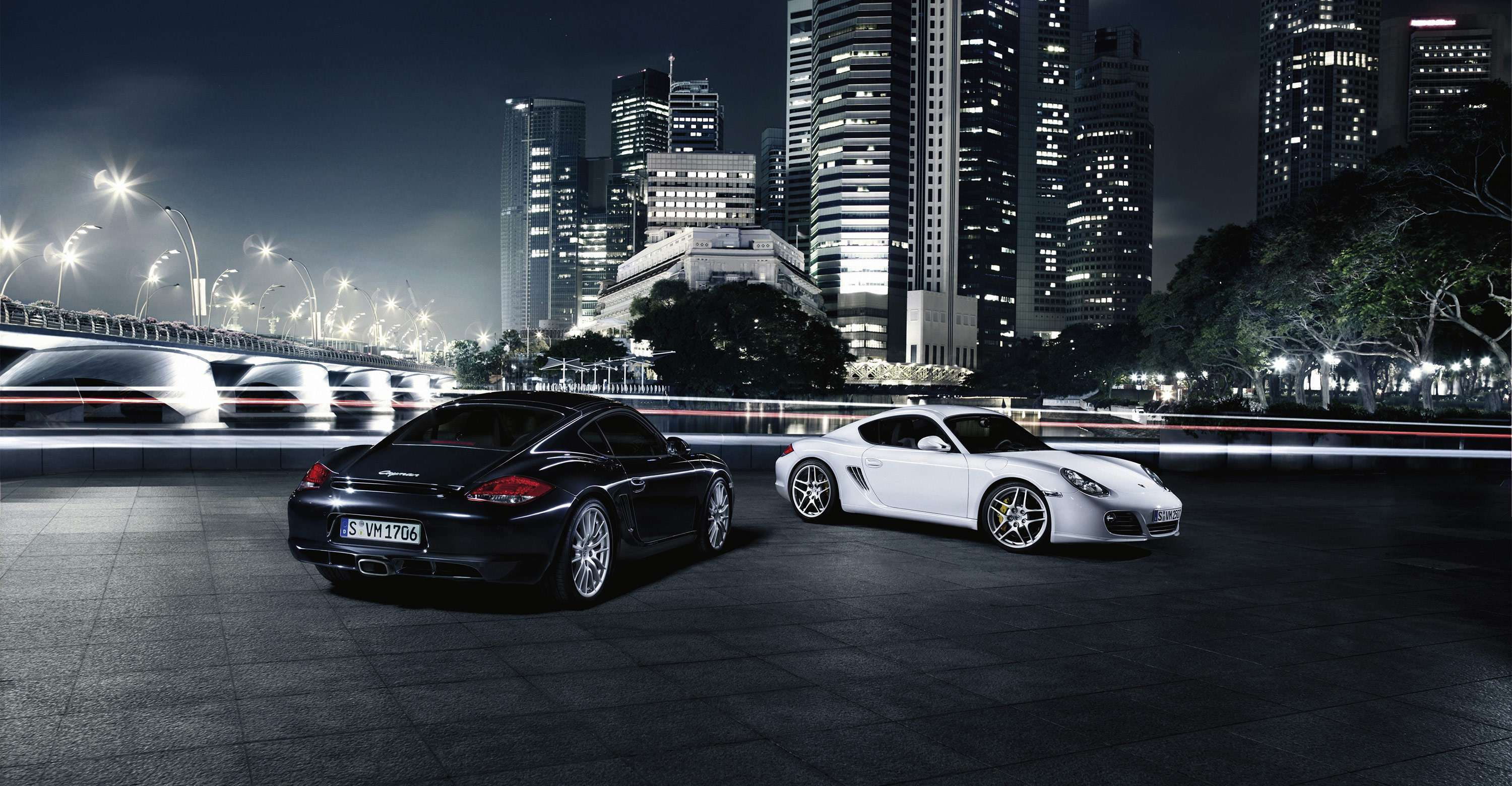 Background Car Hd Wallpapers Cities: Porsche Cayman 9 Hd Wallpapers : Hd Car Wallpapers