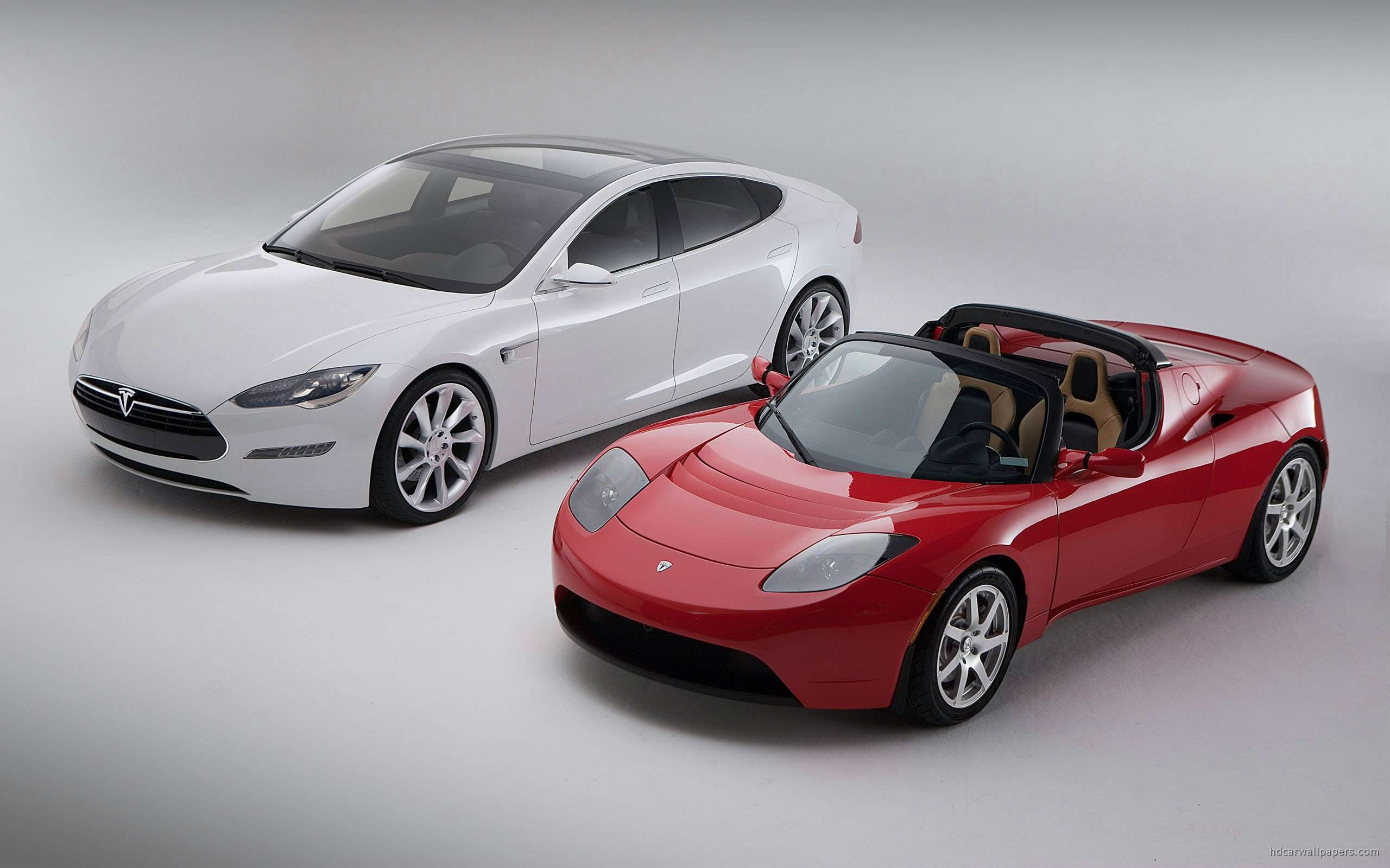 view of tesla model s cars hd wallpapers : hd car wallpapers