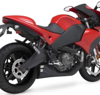 2009 buell 1125r red