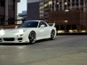 auto cars mazda rx7 white hd wallpapers