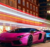colorful supercars wallpaper