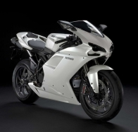 ducati 1198 white side wallpapers