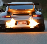 exhaust flames wallpaper