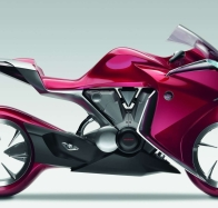 hond red motorbike wallpaper wallpapers