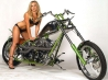 hot chick bike model wallpaper 31