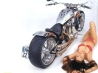 hot chick bike model wallpaper 70