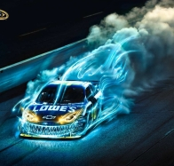 jimmie johnson sprint cup ad monster burn out wallpaper