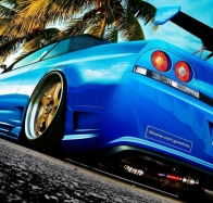 nissan skyline r33 wallpaper
