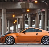 orange sport car wallpaper