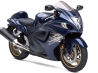 suzuki hayabusa in blue colors wallpapers