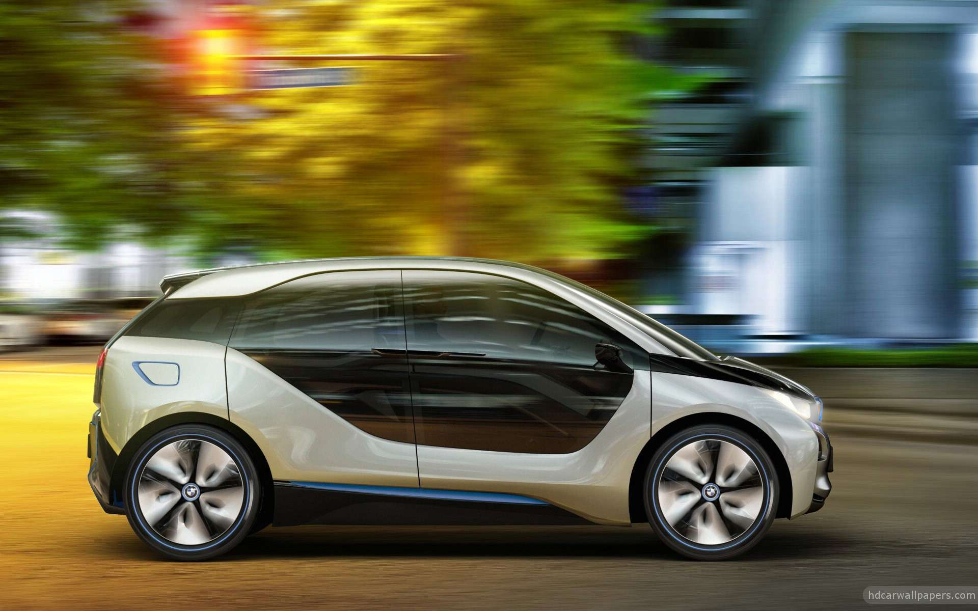 View Of 2012 Bmw I3 Concept 7 Hd Wallpapers : Hd Car Wallpapers