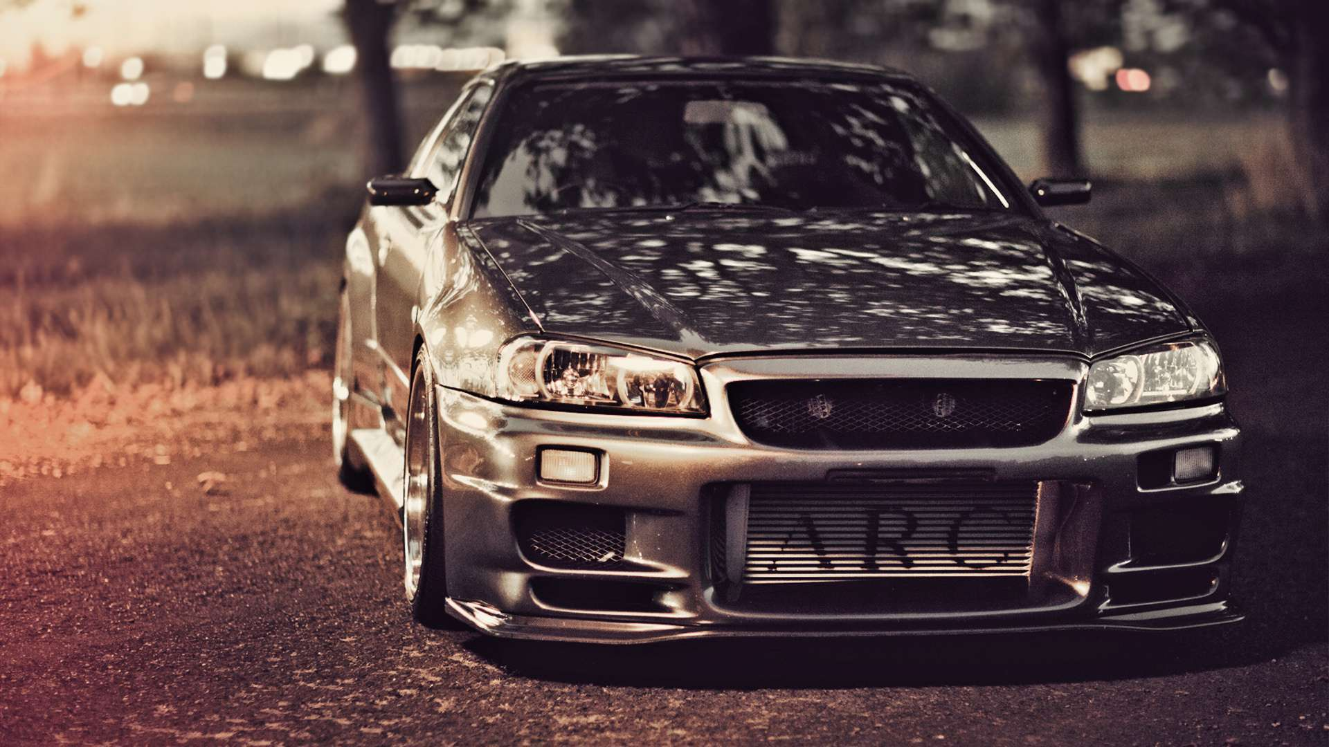 View Of Nissan Skyline Gt R R34 Hd Wallpapers : Hd Car Wallpapers