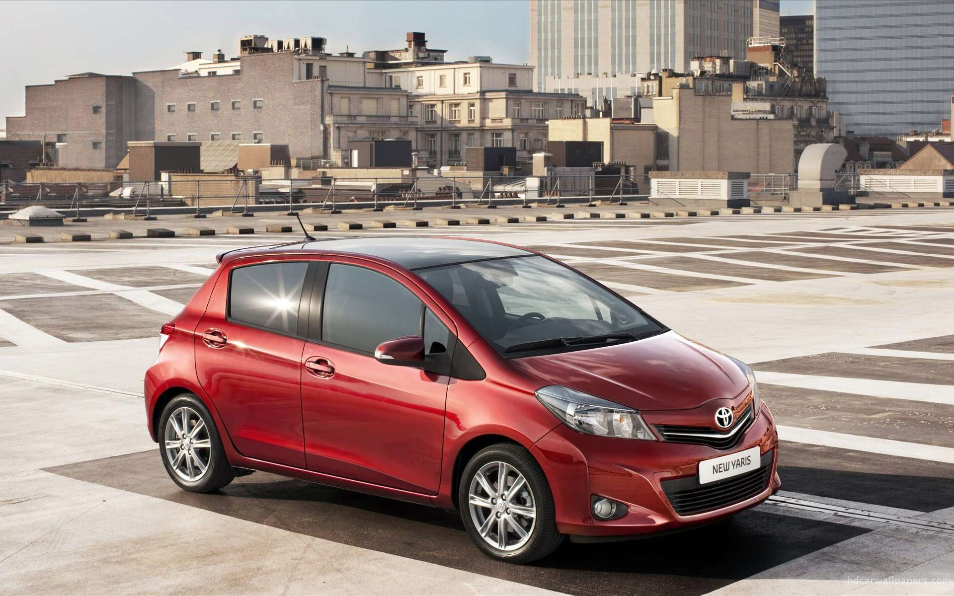 toyota yaris 2012 wallpapers hd car wallpapers. Black Bedroom Furniture Sets. Home Design Ideas